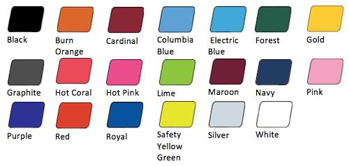 colors womens tshirt